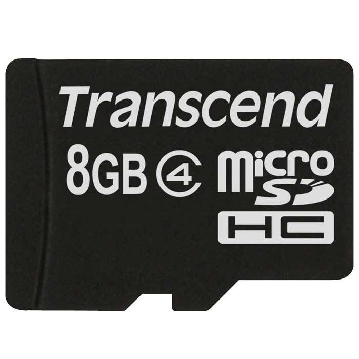 Transcend microSDHC Class 4 8GB карта памятиTS8GUSDC4Карта памяти Transcend microSDHC Class 4 идеально подойдет для хранения большого объема информации.Корректирующий код (ECC) для обнаружения и устранения ошибок при передаче информацииВозможность внутрисистемного программирования (ISP) для обновления микропрограммыПоддержка автоматического ждущего режима, режима выключенного питания и спящего режимаМеханическое переключение защиты записиСоответствие стандартам RoHSВнимание: перед оформлением заказа убедитесь в поддержке вашим электронным устройством карт памяти данного объема.