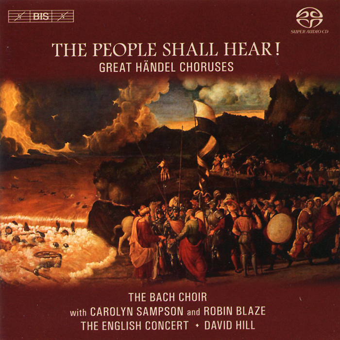 The Bach Choir,Давид Хилл,Кэролин Сэмпсон,The English Concert,Робин Блазе The Bach Choir. David Hill. The People Shall Hear (SACD) new original lenovo y50 y50 70 15 6 lcd top back cover rear lid bezel no touch am14r000400
