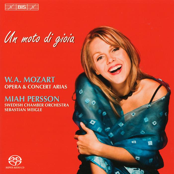 Миа Перссон Miah Persson. Mozart. Opera And Concert Arias (SACD) футболка для беременных printio mozart l opera rock