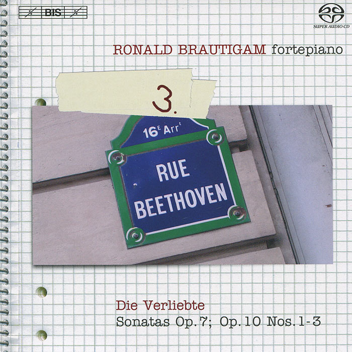 Ronald Brautigam. Beethoven. Complete Works For Solo Piano 3 (SACD)