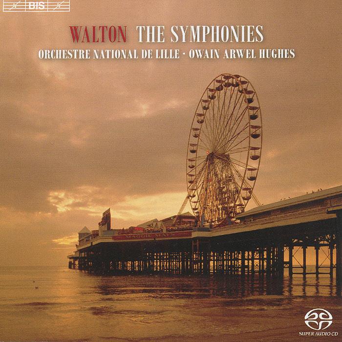 Оуайн Авел Хьюс,Orchestre National De Lille Orchestre National De Lille. Owain Arwel Hughes. Walton. Symphonies Nos.1 & 2 (SACD) цена