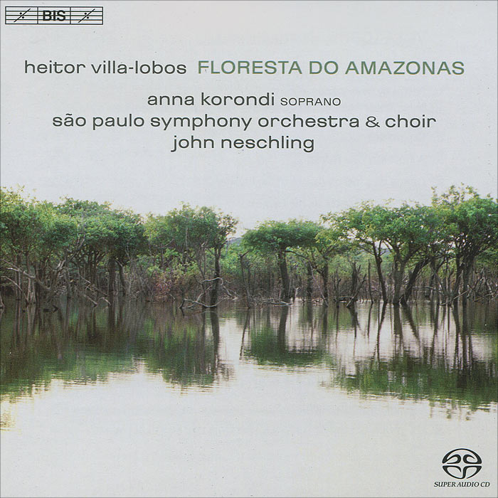 Sao Paulo Symphony Orchestra,Джон Несчлинг,Анна Коронди,Male Voices Of The Choir Of The Sao Paulo Symphony Orchestra Sao Paulo Symphony Orchestra, John Neschling. Villa-Lobos. Floresta Do Amazonas (SACD) 8mm climbing multi purpose paracord rope cord blue 20m