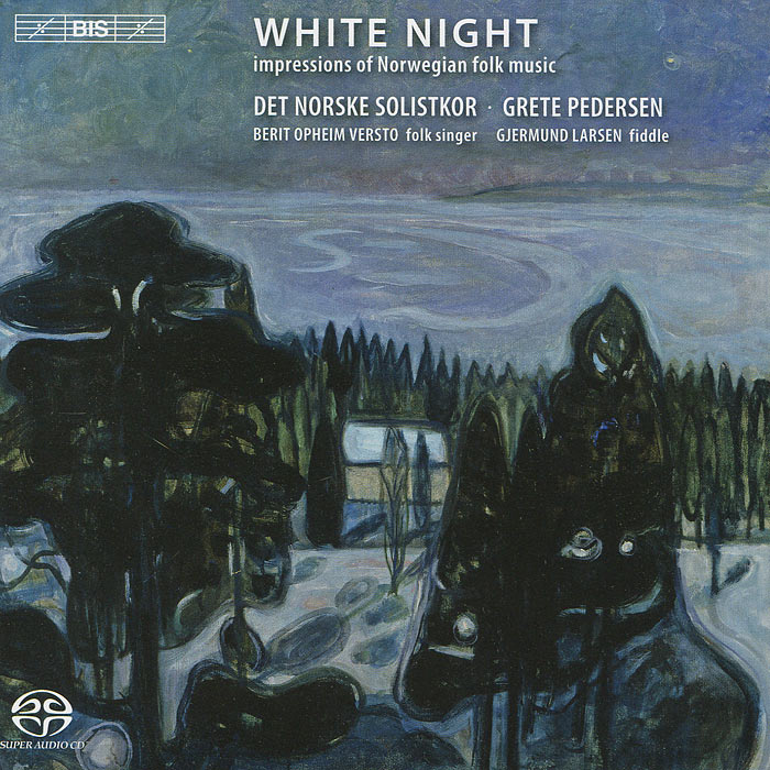 Det Norske Solistkor,Грете Педерсен The Norwegian Soloists' Choir, Grete Pedersen. White Night (SACD)