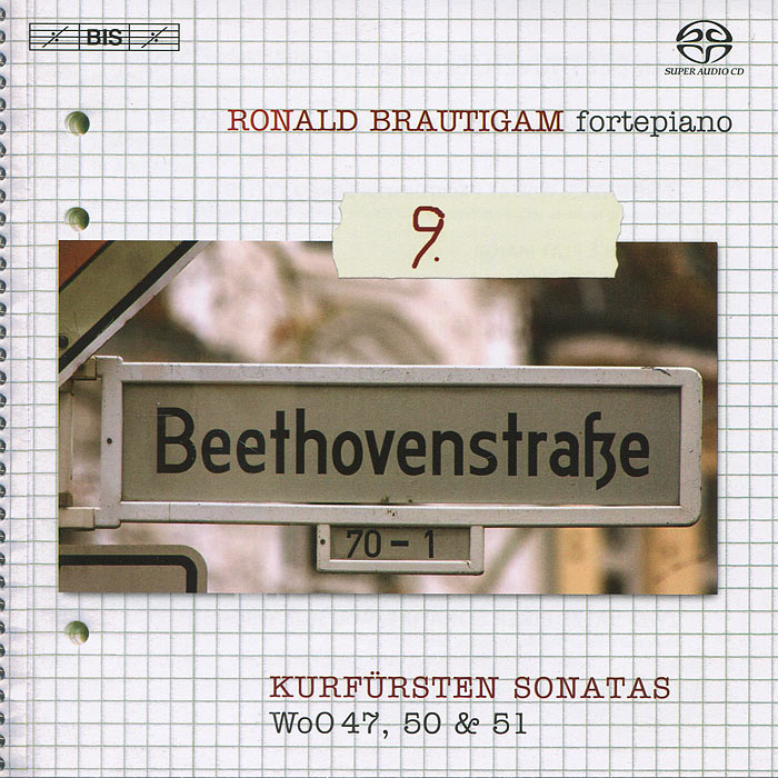 Ronald Brautigam. Beethoven. Complete Works For Solo Piano 9 (SACD)