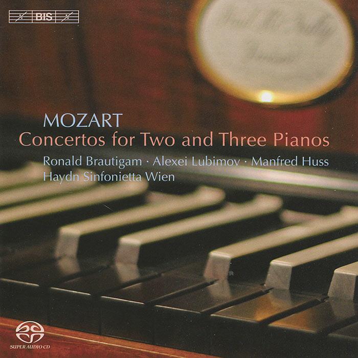 Роналд Броутайджем,Алексей Любимов,Манфред Хасс,Haydn Sinfonietta Wien Mozart. Concertos For 2 & 3 Pianos (SACD)