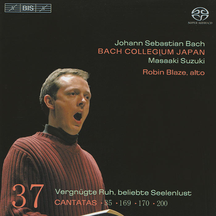 Bach Collegium Japan Chorus & Orchestra,Масааки Сузуки,Робин Блазе Bach Collegium Japan, Masaaki Suzuki. Bach. Cantatas 37 (SACD) the bach choir давид хилл кэролин сэмпсон the english concert робин блазе the bach choir david hill the people shall hear sacd
