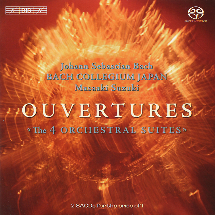 Bach Collegium Japan Chorus & Orchestra,Масааки Bach Collegium Japan. Masaaki Suzuki. Bach. Ouvertures (Orchestral Suites) (2 SACD)