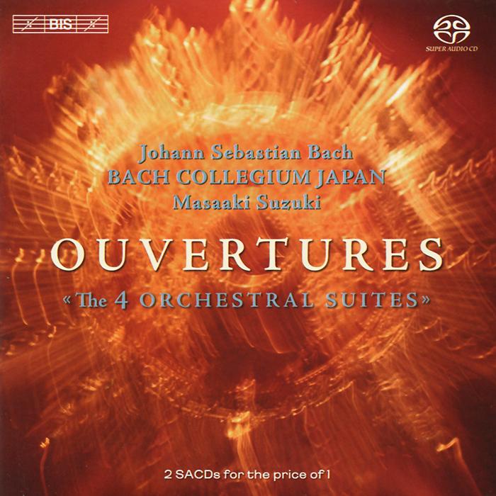 Bach Collegium Japan Chorus & Orchestra,Масааки Сузуки Bach Collegium Japan. Masaaki Suzuki. Bach. Ouvertures (Orchestral Suites) (2 SACD) мюррей перайа murray perahia bach english suites