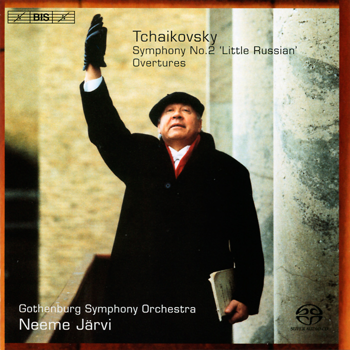 Неэме ЯрвиThe National Orchestra Of SwedenGothenburg Symphony Orchestra Neeme Jarvi Tchaikovsky Symphony No 2 SACD