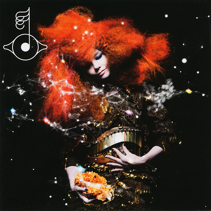 7-й альбом Бьорк - уникальный мультимедийный проект.На альбоме