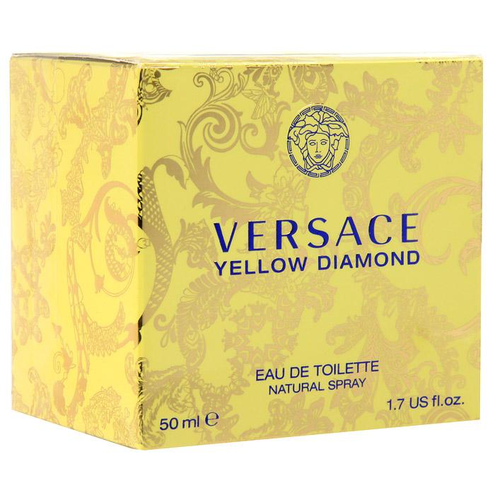 Versace Yellow Diamond. Туалетная вода, 50 мл520030Это роскошный аромат от Versace. Подобный солнечному свету, необыкновенно яркий, лучистый желтый сверкает так, как способен только настоящий бриллиант. Чистая чувственность, чистая прозрачность, чистый свет. Еще одна настоящая драгоценность редкой красоты раскрывается в свежем и ярком цветочном аромате; пленительный и волнующий аромат для истинной женственности, уверенной в своем шарме, гармонирует с безошибочно узнаваемым стилем Versace. Верхняя нота: Лимон из Диаманте, Бергамот, Грушевый сорбет, Нероли. Средняя нота: Белая водяная лилия, Фрезия, Цветы апельсина, Мимоза. Шлейф: Амбровое дерево, Древесина пало санто, Мускус. Цветочный фруктовый древесный. Подобный солнечному свету, необыкновенно яркий и лучистый, он сверкает так, как способен только настоящий бриллиант. Чистая чувственность, чистая прозрачность, чистый свет. Пленительный и волнующий аромат для истинной женщины, уверенной в своем шарме, гармонирует с безошибочно узнаваемым стилем Versace.Краткий гид по парфюмерии: виды, ноты, ароматы, советы по выбору. Статья OZON Гид