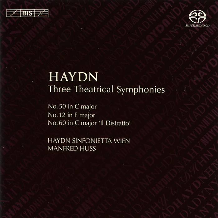 Haydn Sinfonietta Wien,Манфред Хасс Haydn Sinfonietta Wien. Manfred Huss. Haydn. Three Theatrical Symphonies (SACD) халат домашний five wien home five wien home mp002xm0ydev