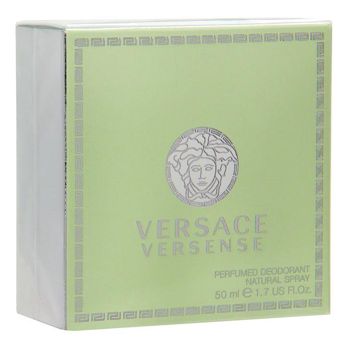 Versace Versense. Парфюмированный дезодорант, 50 мл780040Этот аромат великолепно сочетает в себе свежесть и чувственность. И даже название аромата обещает чувственное наслаждение. Цвет аромата ассоциируется с природой, ощущением бескрайней свободы, живительной энергии и гармонии чувств. Этот свежий и опьяняющий аромат словно создан самой природой специально для женщины, уверенной в себе, энергичной и чувственной Верхняя нота: Бергамот, Зеленый мандарин, Опунция. Средняя нота: Морской нарцисс, кардамон, Жасмин. Шлейф: Сандал, Кедр, Оливковое дерево, Мускус. Цветочный древесный. Аромат великолепно сочетает в себе свежесть и чувственность. И даже название аромата обещает чарующее наслаждение. Цвет аромата ассоциируется с природой - ощущение бескрайней свободы; живительной энергией и гармонией.