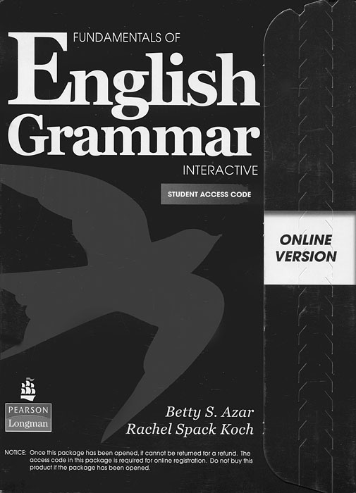 Фото - Fundamentals of English Grammar: Interactive: Student Access Code random house webster s grammar usage and punctuation