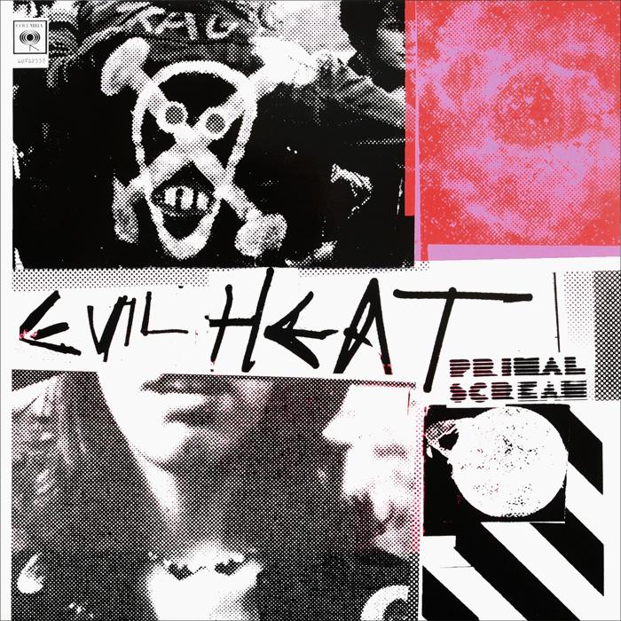 Primal Scream Primal Scream. Evil Heat (2 LP) primal scream primal scream live in japan 2 lp