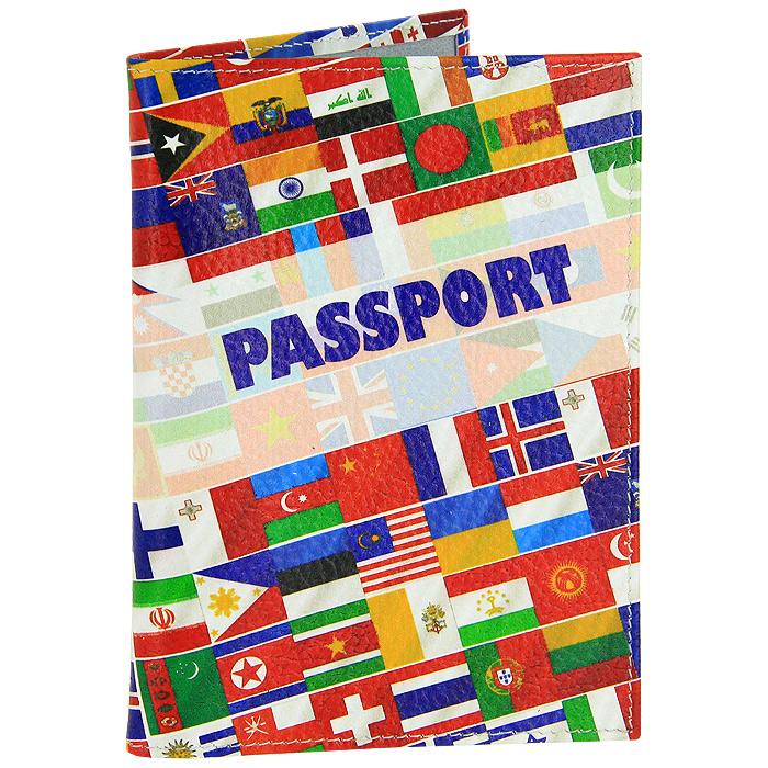 Обложка для паспорта Perfecto Overseas-1. PS-OS-0001 обложка для паспорта яркая личность ozam389