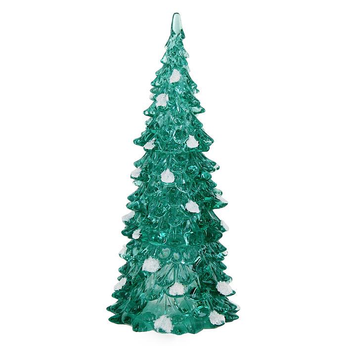 Декоративное светящееся украшение Елочка. 0066-0012 бумбарам волшебные кристаллы синяя елочка