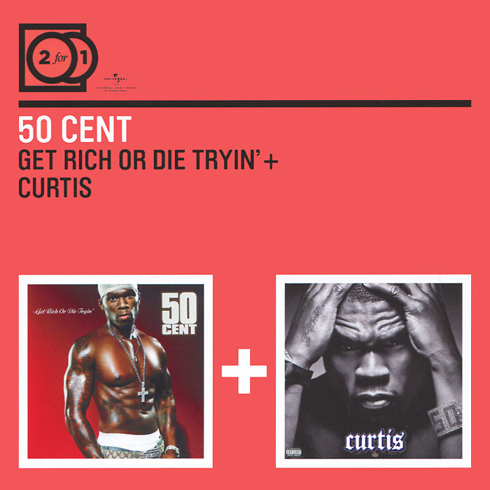 50 Cent 50 Cent. Get Rich Or Die Tryin' / Curtis (2 CD) 50 cent 50 cent curtis