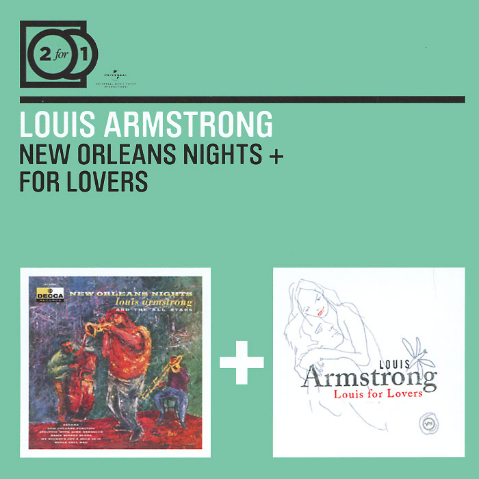 Луи Армстронг Louis Armstrong. New Orleans Nights / For Lovers (2 CD) thomas brothers louis armstrong s new orleans