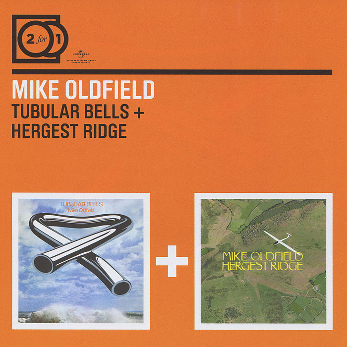 Майк Олдфилд Mike Oldfield. Tubular Bells / Hergest Ridge (2 CD) виниловая пластинка mike oldfield tubular bells ii