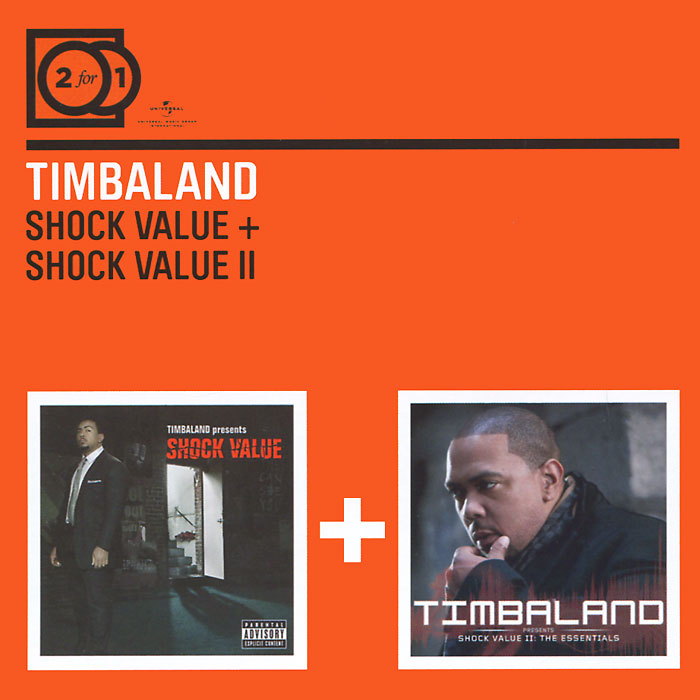 Zakazat.ru Timbaland. Shock Value / Shock Value II (2 CD)