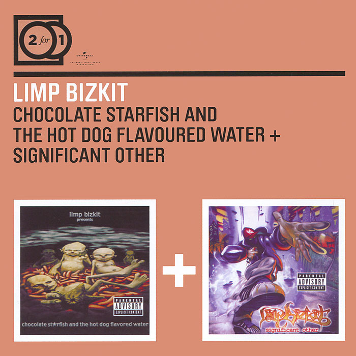 Limp Bizkit Limp Bizkit. Chocolate Starfish And The Hot Dog Flavored Water / Significant Other (2 CD) starfish shaped roller massager