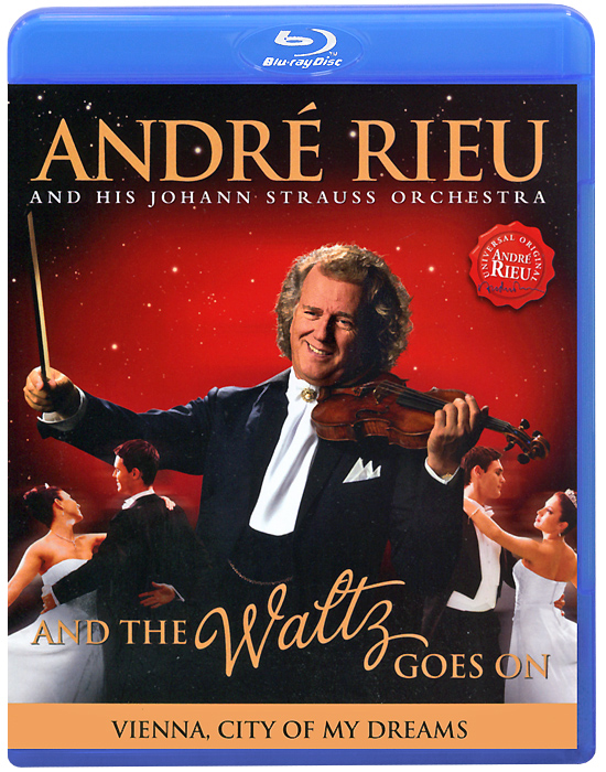 Andre Rieu: And The Waltz Goes On (Blu-ray) heart goes last the