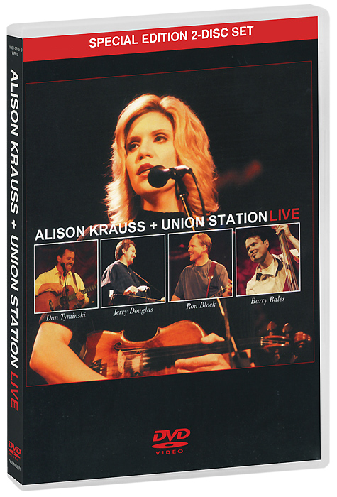Alison Krauss + Union Station: Live (2 DVD) how i live now