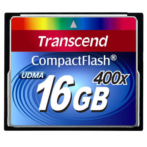 Transcend CompactFlash 400x 16GB карта памяти
