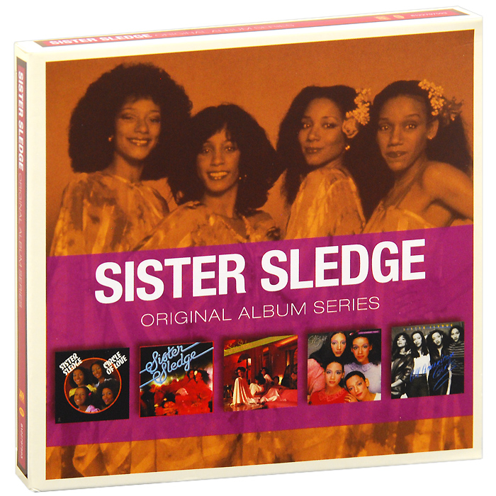 Sister Sledge. Original Album Series (5 CD)