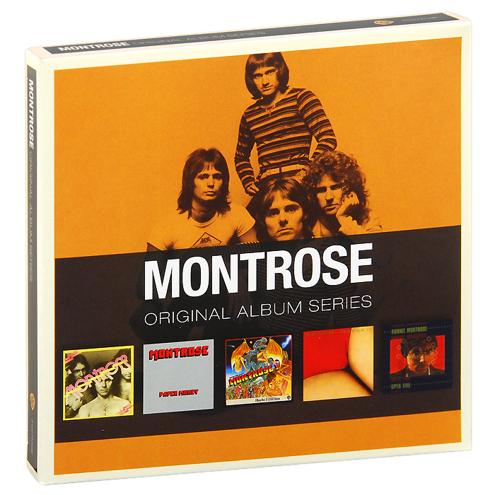 Montrose Montrose. Original Album Series (5 CD) цена