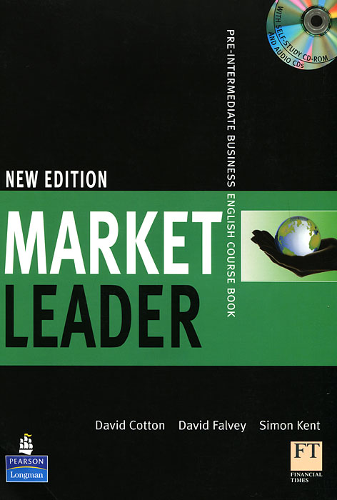 Market Leader: Pre-Intermediate Business English Course Book (+ CD-ROM, + CD) market leader pre intermediate practice file аудиокурс cd