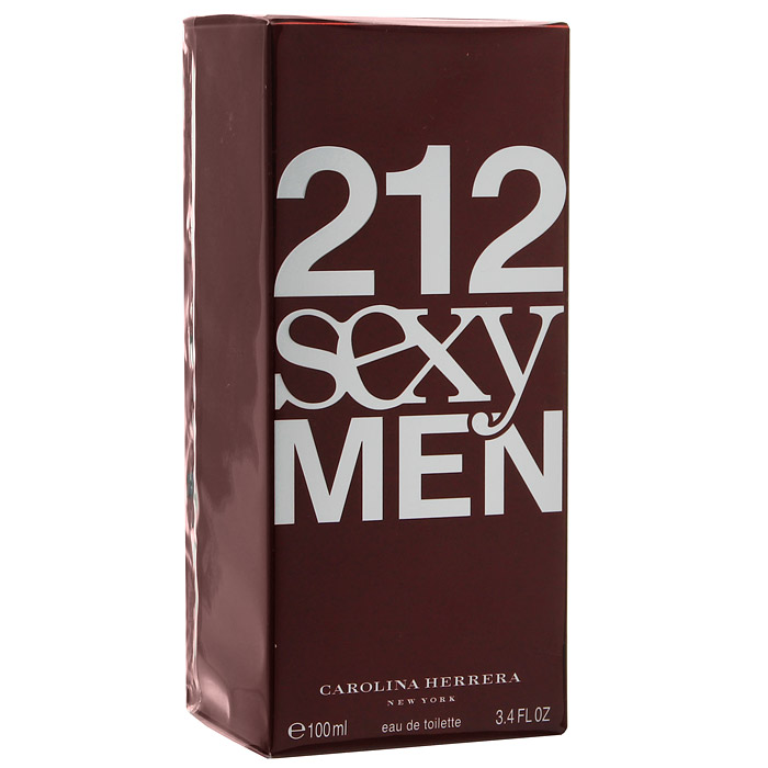 Carolina Herrera 212 Sexy Men. Туалетная вода, 100 мл туалетная вода carolina herrera carolina herrera 212 men м товар туалетная вода 50 мл