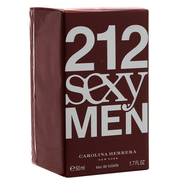 Carolina Herrera 212 Sexy Men. Туалетная вода, 50 мл туалетная вода carolina herrera carolina herrera 212 men м товар туалетная вода 50 мл