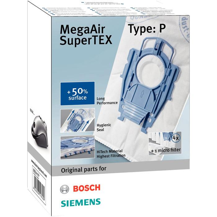 Bosch BBZ 41FP мешок для сбора пылиBBZ41FPBosch BBZ 41FP - комплект из 4-х мешков-пылесборников. Специальный затвор обеспечивает высокий уровень гигиены при замене. Пылесборники состоят из особого трёхслойного синтетического материала, способного задерживать в себе до 99% всасываемой пыли. В отличие от бумажных пылесборников, они на 30% эффективнее сохраняют мощность всасывания по мере заполнения пылью. Данная модель ещё эффективнее задерживает даже мельчайшие частицы пыли - благодаря увеличенной на 50% поверхности и дополнительному отделению для сбора пыли.