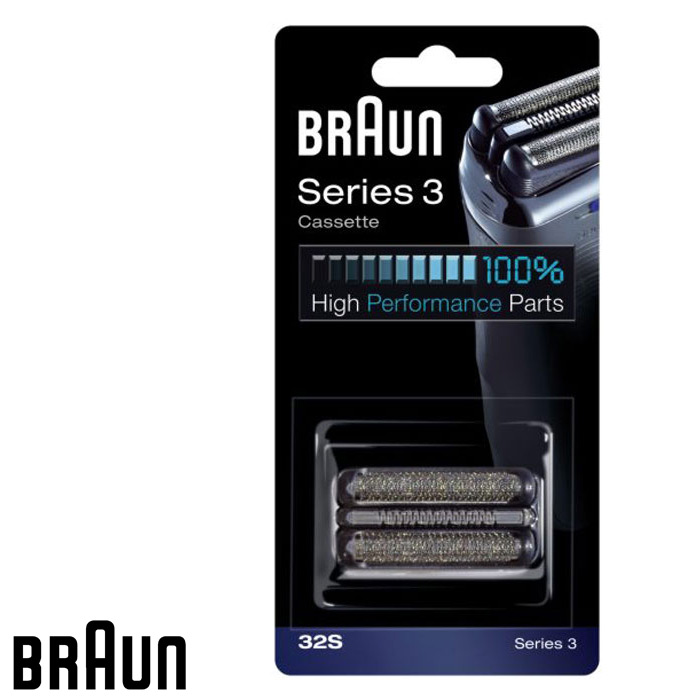 Braun Сетка+блок Series3 32S braun 32s series 3 shaver foil and cutter head replacement cassette with microcomb 320 330 340 350cc 360 370 380 390cc 395cc