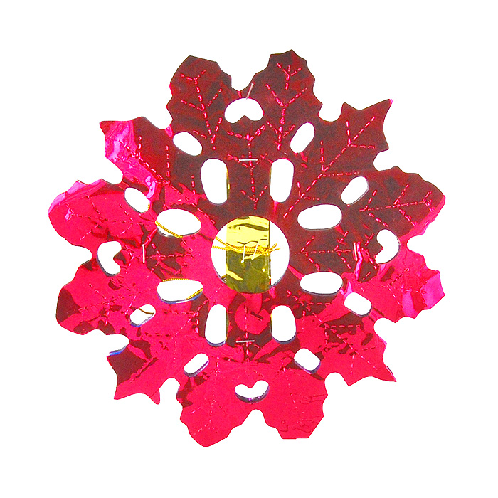 Гирлянда-растяжка Снежинка, 120 см0279-0012Гирлянда-растяжка, выполненная из металлизированной фольги в форме снежинки, украсит интерьер вашего дома или офиса к Новому году и создаст теплую и уютную атмосферу праздника. Откройте для себя удивительный мир сказок и грез. Почувствуйте волшебные минуты ожидания праздника, создайте новогоднее настроение вашим дорогими близким. Характеристики:Размер:20 см х 120 см.Материал:металлизированная фольга.Артикул:0279-0012.Изготовитель: Китай.