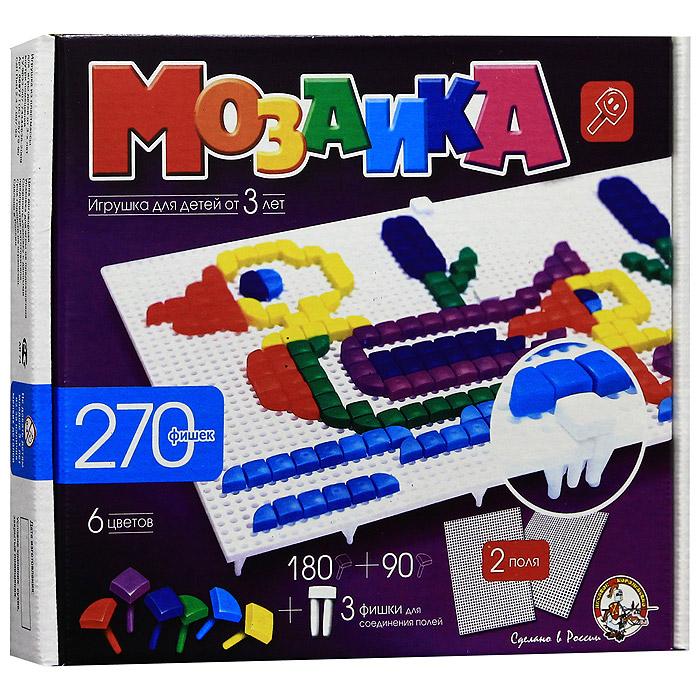 Мозаика, 270 фишек супер мозаика d20 5цветов 40 фишек 02018