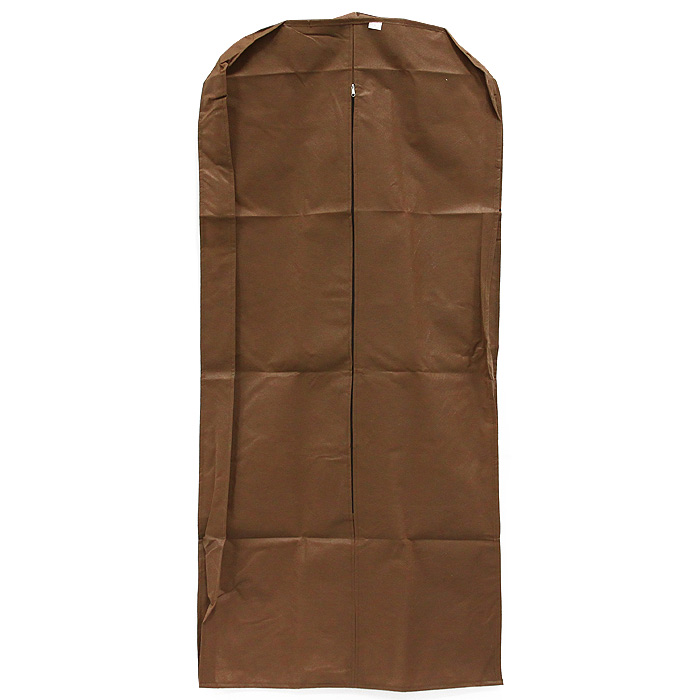Чехол для одежды Eva, с вставкой, цвет: коричневый, 140 см х 65 см х 10 см чехол для одежды eva вензеля 60 х 135 см