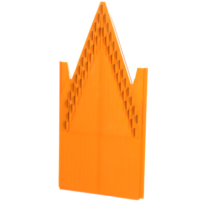 Вставка к овощерезке Borner Classic 1,6 мм 118118Дополнительная вставка для овощерезки выполнена в виде V-образной рамы с ножами 1,6 мм из пластика и металла. Вставка подходит для нарезки любых овощей и фруктов на тонкую длинную или короткую соломку, мелкие кубики.Характеристики: Материал: пластик, металл. Цвет: оранжевый. Размер: 20 см х 9,7 см. Длина ножей: 0,9 см. Высота ножей: 1,6 мм - 4 мм. Размер упаковки: 26 см х 10 см х 2 см. Производитель: Германия. Артикул: 118.