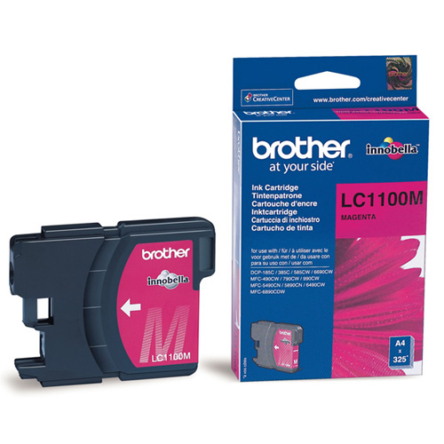Brother LC1100M Magenta brother lc1240c