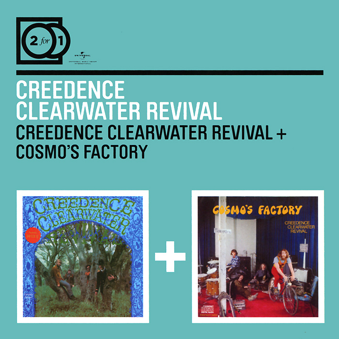 Creedence Clearwater Revival Creedence Clearwater Revival. Creedence Clearwater Revival / Cosmo's Factory (2 CD) виниловая пластинка creedence clearwater revival mardi gras