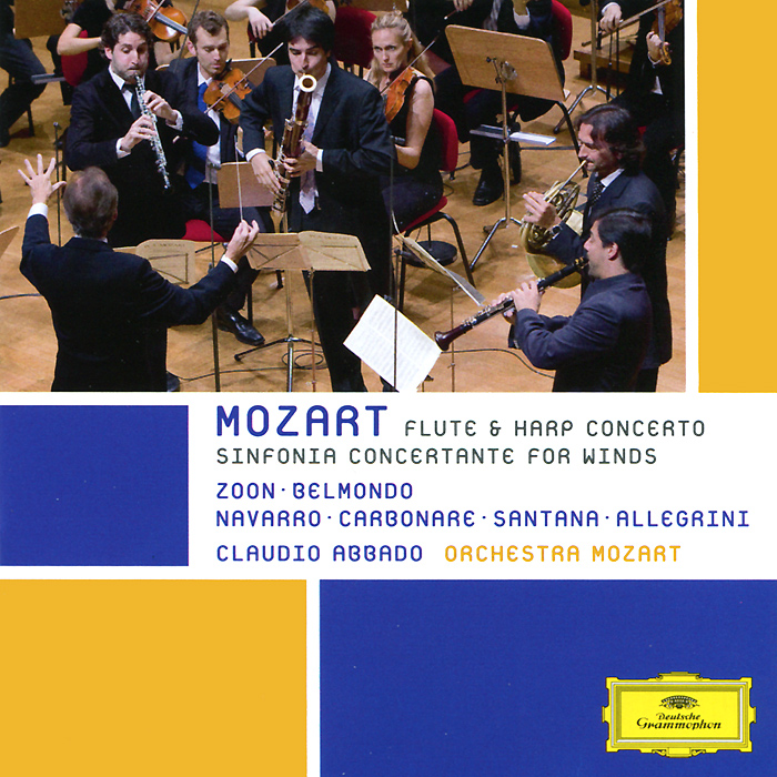 Orchestra Mozart,Клаудио Аббадо Orchestra Mozart, Claudio Abbado. Mozart. Sinfonia Concertante For Winds