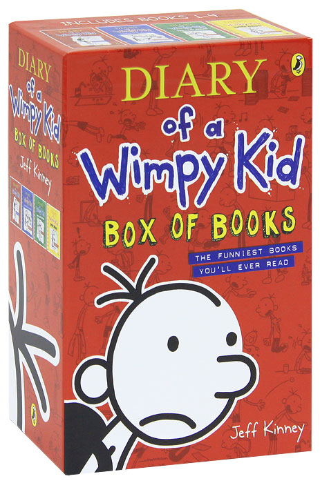 Diary of a Wimpy Kid (комплект из 4 книг) diary of a wartime affair