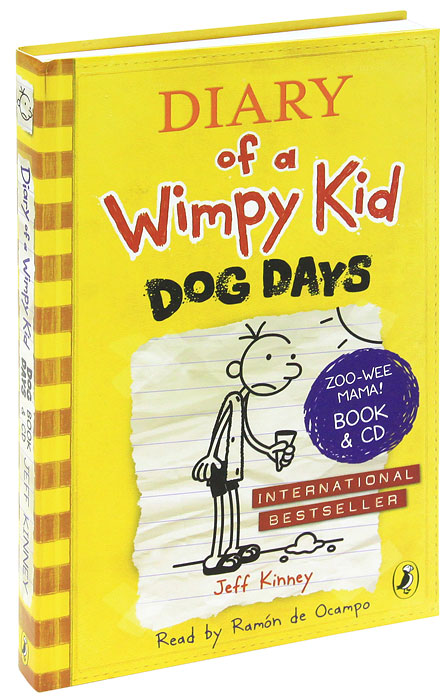 Купить Diary of a Wimpy Kid: Dog Days (+ 2 CD-ROM),
