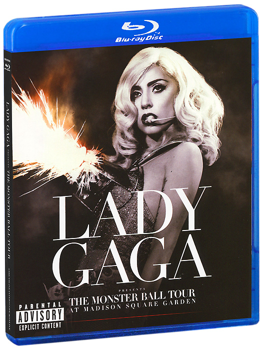 Lady Gaga: The Monster Ball Tour At Madison Square Garden (Blu-ray) фильм