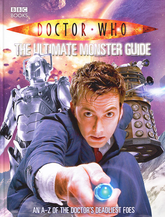 Doctor Who: The Ultimate Monster Guide the american spectrum encyclopedia the new illustrated home reference guide
