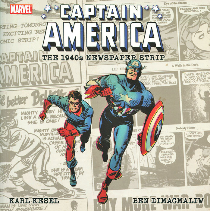 Captain America: The 1940s Newspaper Strip victorian america and the civil war