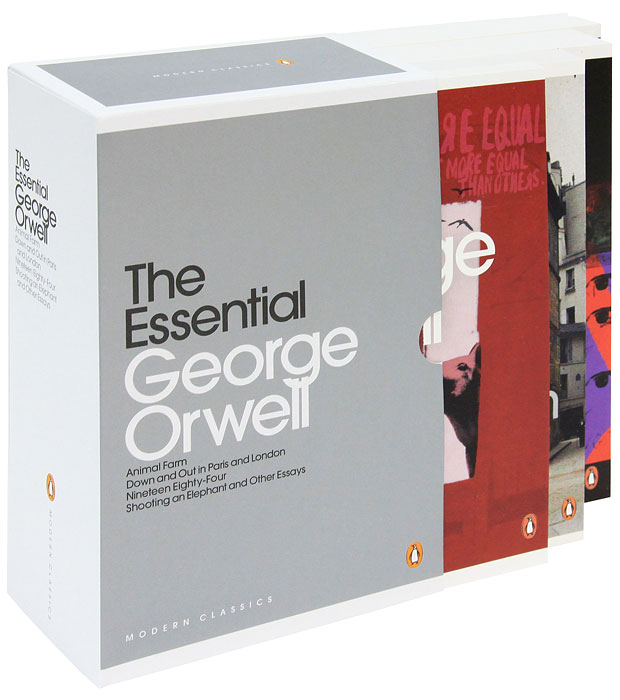 George Orwell: The Essential (комплект из 4 книг) george orwell burmese days