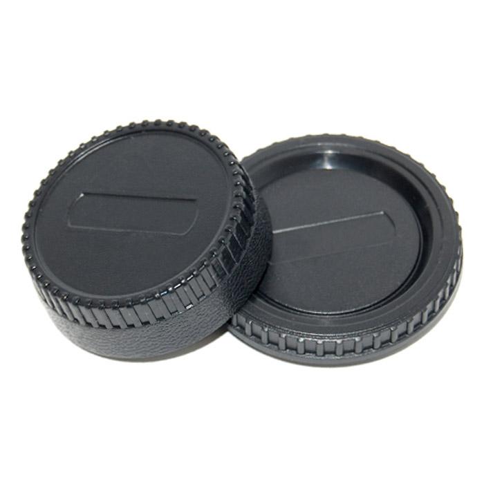 JJC крышка для объектива + крышка байонета камеры NikonJJCLR2Крышка JJC для обьектива задняя и крышка байонета камеры Nikon.